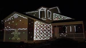 Christmas Lights On House by 2013 Christmas House Projection Live Hd Part 1 Youtube