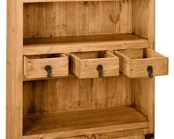 santa fe rusticos solid pine module bookcase the brick