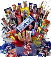 thank you baskets sweet appreciation thank you candy bouquet gift baskets