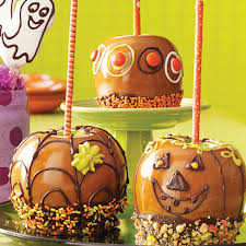 fun caramel apples recipe taste of home