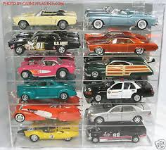 diecast toy vehicle display cases stands ebay model car diecast display case 1 18 scale 12 car compartment ebay