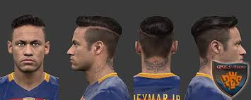 pes 2013 hairstyle ultigamerz pes 2013 neymar face with new hairstyle 2016