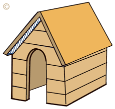 free dog house clipart image 2245 free house outline free