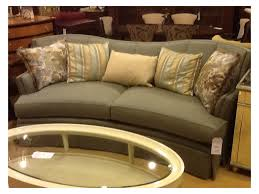 Henredon Coffee Table by Furniture Curved Henredon Sofa With Throw Pillow Cover And Oval