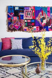 Colorful Aztec Rug Best 25 Wall Rugs Ideas On Pinterest Eclectic Rugs White Wall