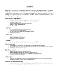 Resume Order Of Jobs Resume Wording Examples Resume Templates