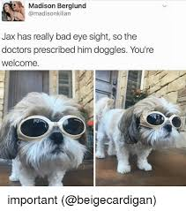 Eye Doctor Meme - madison berglund jax has really bad eye sight so the doctors