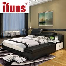 Where Can I Buy A Cheap Bed Frame Ifuns Luxury Bedroom Furniture Home Soft King Size Bed