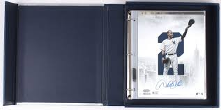 8x10 Photo Album Book Derek Jeter Signed Yankees Coffee Table Photo Book With 8x10 Photo