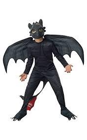 Bat Halloween Costume Kids Amazon Rubies Train Dragon 2 Night Fury Costume