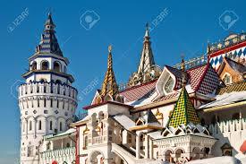 russische architektur izmailovskiy kreml in moskau altmodische russische architektur