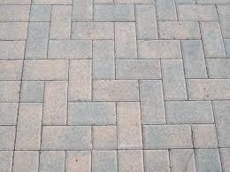 Herringbone Brick Patio Choosing Material For Pavers