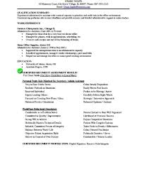 resume exles objective stirring administrative objective foresume template office