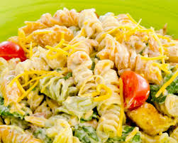 creamy ranch and bacon pasta salad litehouse foods