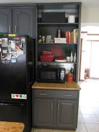 Can We Paint Kitchen Cabinets Diy Refinished And Painted Cabinet Reviews Remodelaholic