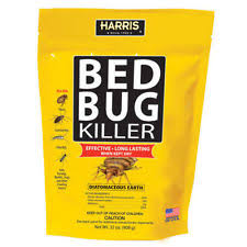 Bed Bug Sprays Harris 32 Oz Diatomaceous Earth Bed Bug Killer Perimeter Insect