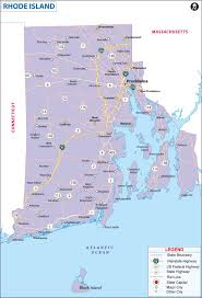 State Map by Map Of Rhode Island State Map Of America