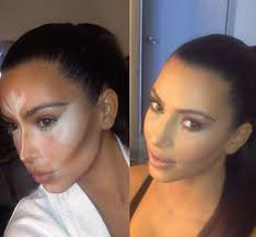 Makeup Contour tweeted out pictures of makeup contouring trick