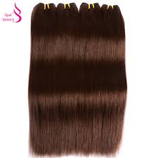 Inexpensive Human Hair Extensions by Online Get Cheap Light Brown Hair Extensions Aliexpress Com