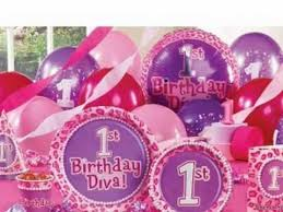baby girl 1st birthday themes baby birthday party supplies