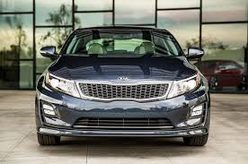 facelifted 2014 kia optima hybrid debuts at 2014 chicago auto show