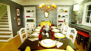 Wallpaper For Dining Room Old Style Dining Room Video Hgtv