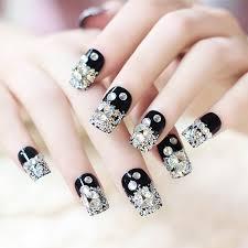 online buy wholesale rhinestone fake nails from china rhinestone