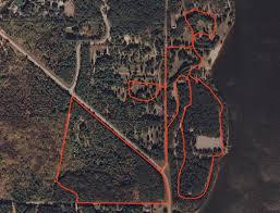 Castle Rock State Park Map by Castle Rock Juneau County