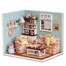 online get cheap miniature dollhouse diy kit kitchen aliexpress