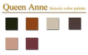historic color palette queen anne style artsparx color palette