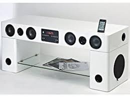 cuisine tv fr meuble tv home cin ma int gr watts blanc amazon fr cuisine tv cinema