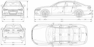 dimension audi a6 the blueprints com blueprints cars audi audi a6 2011