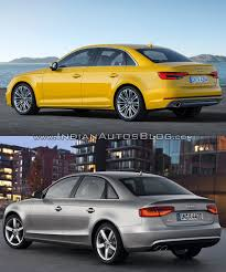 2016 audi a4 b9 vs 2013 audi a4 b8 old vs new