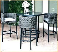 high top patio table and chairs high top patio bar set flowzeen com