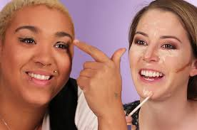 Challenge Buzzfeed Try The No Mirror Makeup Challenge
