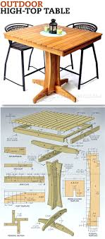 patio ideas wood pallet patio furniture plans outdoor high top
