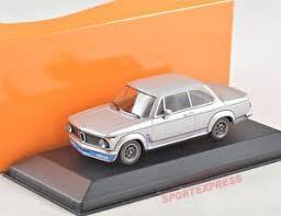bmw 2002 model car 1 43 maxichs 940022200 bmw 2002 turbo silver 1973 ebay