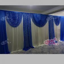 wedding backdrop online blue curtain luxury font royal wedding backdrop curtains cheap