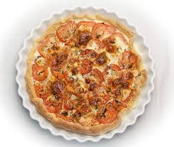 cuisiner avec rien dans le frigo tarte à la tomate et mozzarella recette expresse pour le dîner de ce