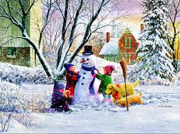 thanksgiving jigsaw puzzle snowman and friends jigsaw puzzle puzzlewarehouse com