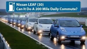 nissan leaf replacement battery cost nissan leaf can it do a 200 mile daily commute youtube