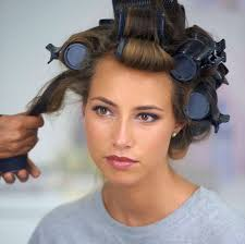 how to put rollersin extra short hair how to use hot rollers a step by step guide all things hair