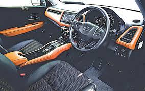 Honda Vezel Interior Pics Honda Vezel Hybrid The Daily Star