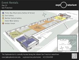 san francisco floor plans event planning resources exploratorium