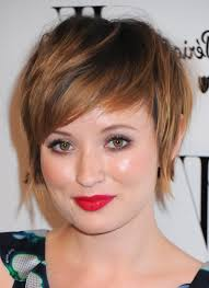 hairstyles for women with a double chin and round face short thick hairstyles bangs double chin short hairstyle for women