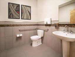 12x24 Tile In A Small Bathroom A Holistic Approach To A Healthcare Facility Julie L Schuster