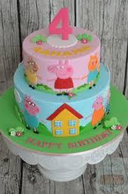 peppa pig cake peppa pig cake 3rd birthday blackpool based cake maker and