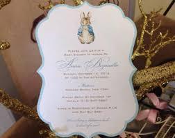 rabbit invitation baby shower invitation templates rabbit baby shower
