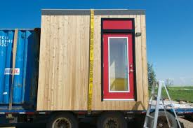 Micro Cabin Parks Canada Micro Cabin Finished Right Contracting