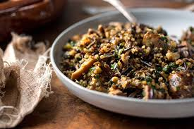 veggie stuffing thanksgiving squash and celeriac quinoa stuffing recipe nyt cooking